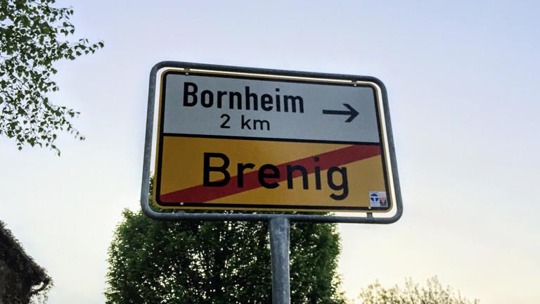 Borhnheim Ortsschild