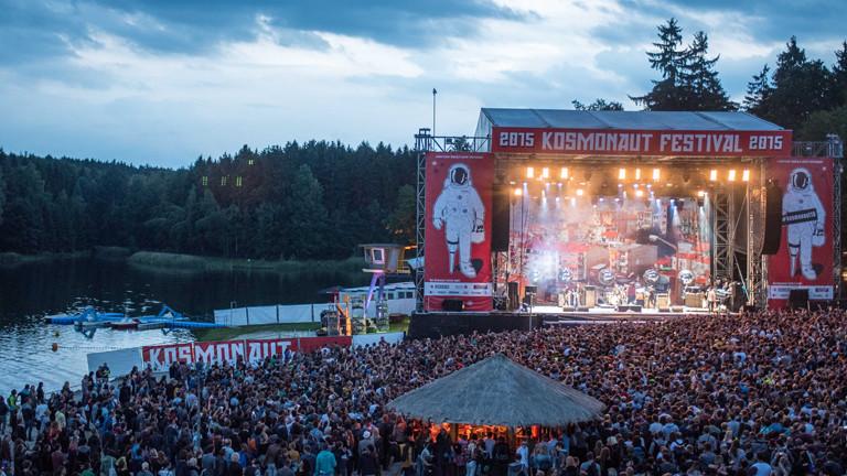 Kosmonaut Festival im Jahr 2015