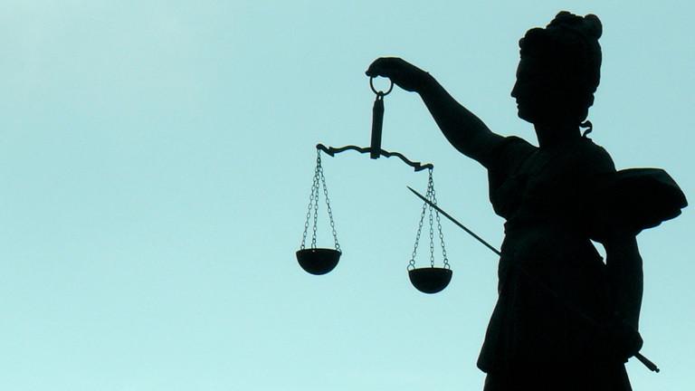 Bild einer Justitia-Statue