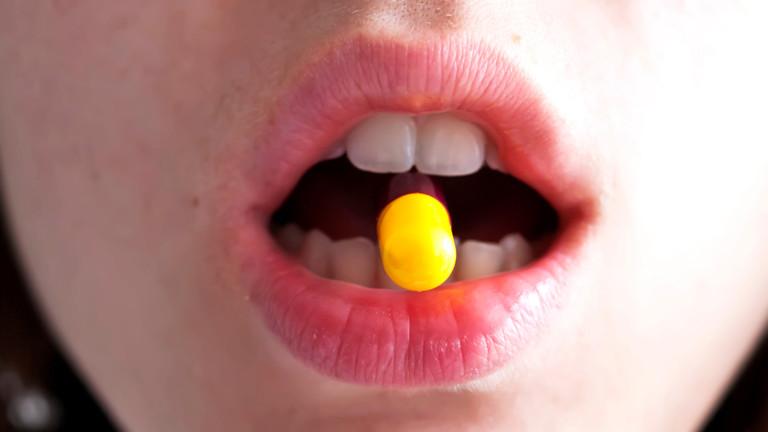 Nur eine Pille im Monat