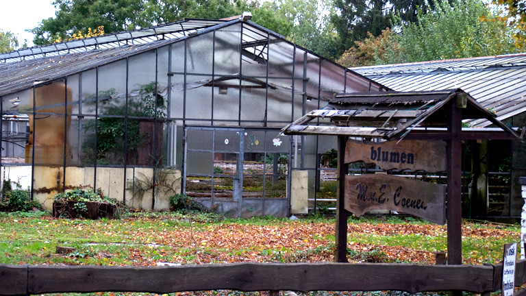 Eine verlassene Gärtnerei