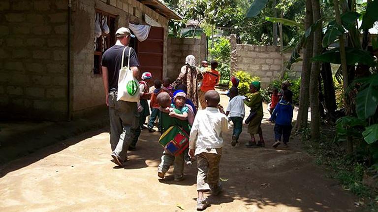 Schulkinder in Afrika