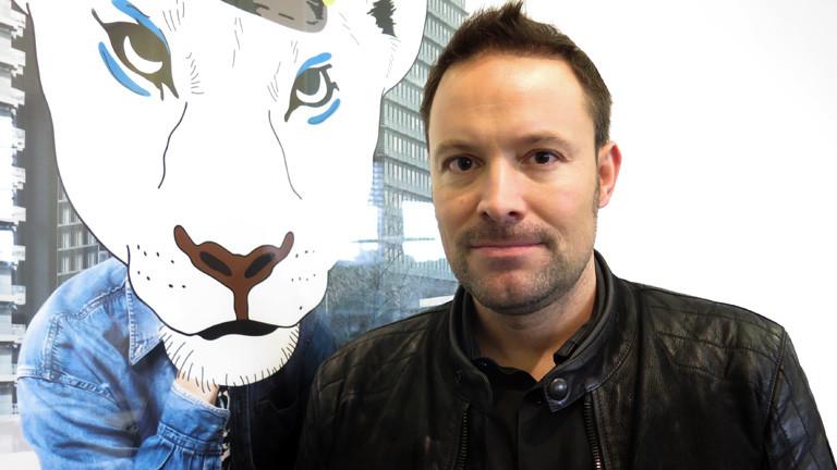 Leo Martin im DRadio Wissen Studio