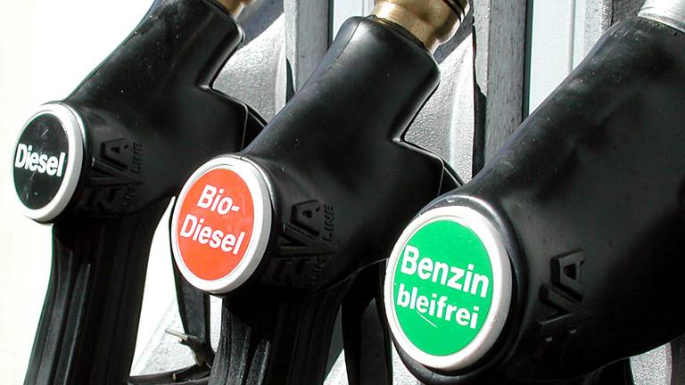 Zapfsäule mit Biodiesel