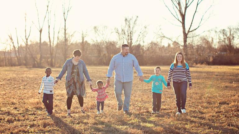 Familie Dooley: Brice, Dustin, Avy, Steve, Barret, Anna-Kate