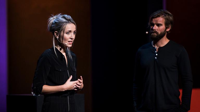 Thordis Elva und Tom Stranger