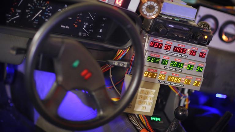 DeLorean aus Zurück in die Zukunft II