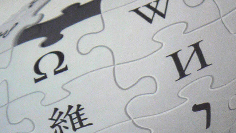 Ausschnitt des Wikipedia-Symbols