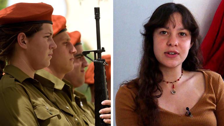 Collage:  Atalya Ben Abba, Israelische Soldatinnen,