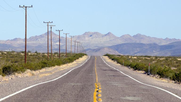 Highway in Kalifornien