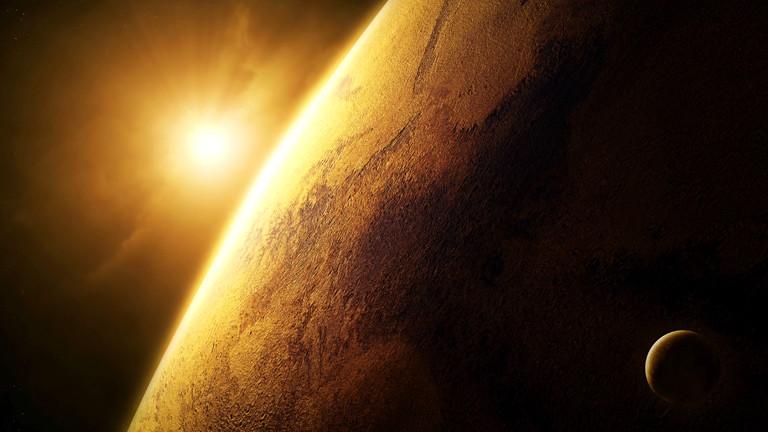 Illustration Mars Planet