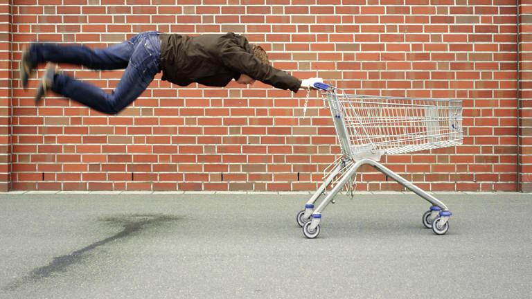 Schneller Einkaufswagen