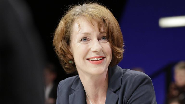 Ulrike Guérot in der Polittalkshow Maybrit Illner