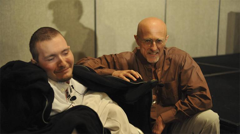 Sergio Canavero und Walerij Spridonow: Der iatlienische Arzt plant die Transplantation des Kopfes des russischen Mannes.