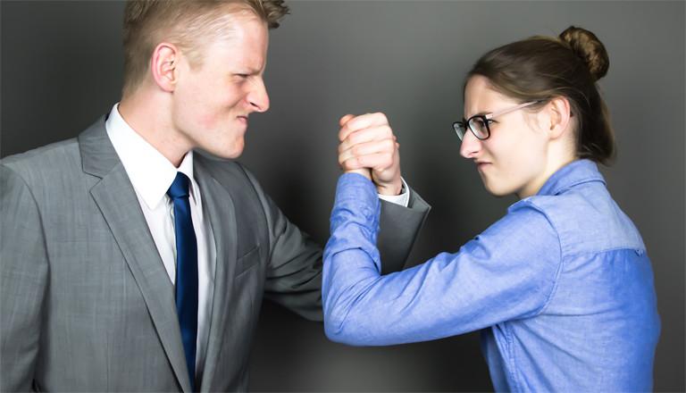 Gehaltsunterschiede trotz gleicher Leistung?  Die Gender Pay Gap kann für Konflikte sorgen.