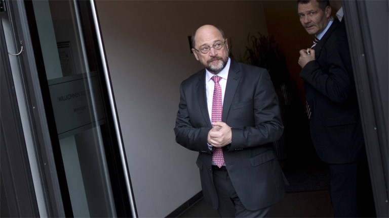 Er wird es nicht: Martin Schulz im November 2017. Er galt für kurze Zeit als sicherer Kandidat für das Amt des Außenministers