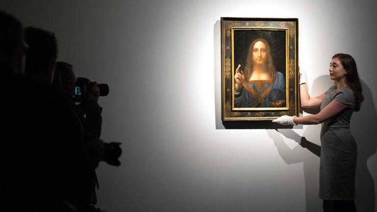 """Versteigert für 450 Millionen Dollar: Dieses Bild verkaufte Christie's als """"Salvator Mundi"""" von Leonardo da Vinci"""