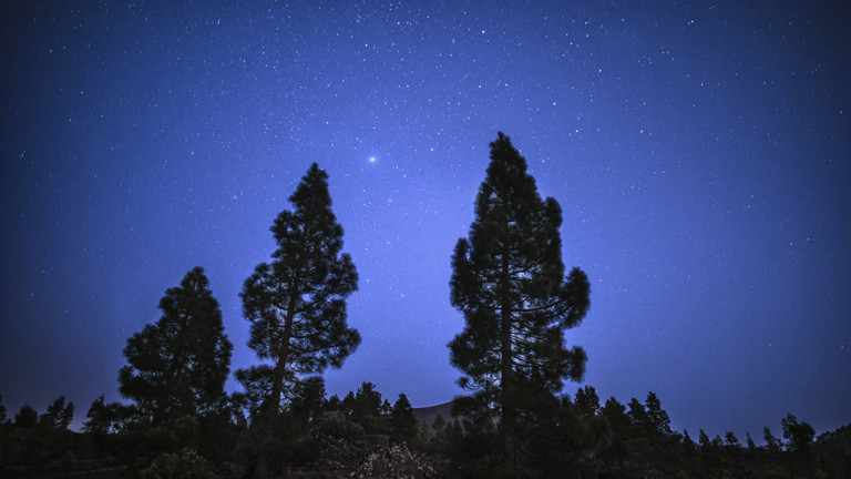 Nachthimmel, Venus