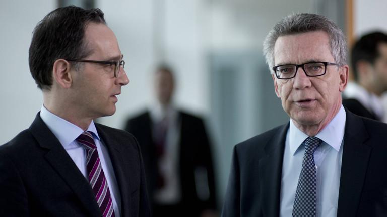 Heiko Maas und Thomas de Maizière