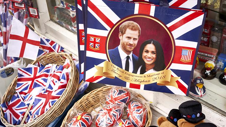 Souvenirs zur Hochzeit von Meghan und Harry