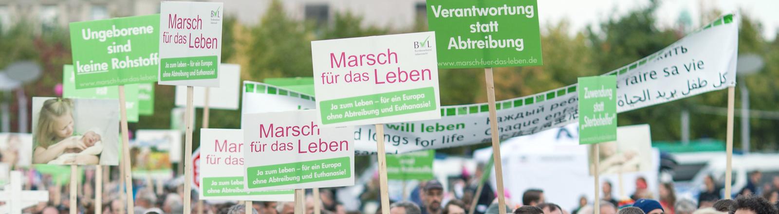 """Demo """"Marsch für das leben"""""""