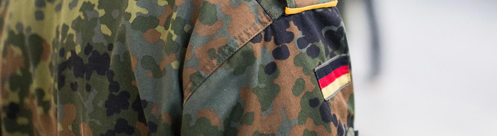 Eine Bundeswehr-Uniform