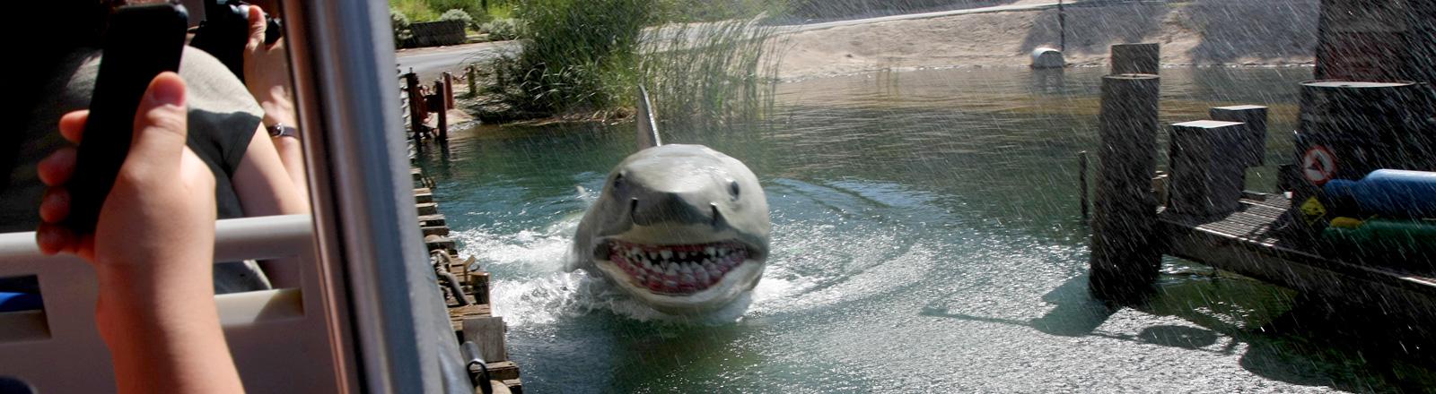 """Filmkulisse von """"Der Weiße Hai"""""""