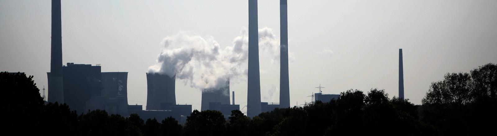 Kohlekraftwerk in Gelsenkirchen