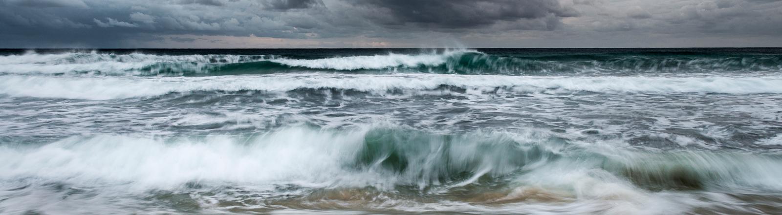 Meer bei Sturm
