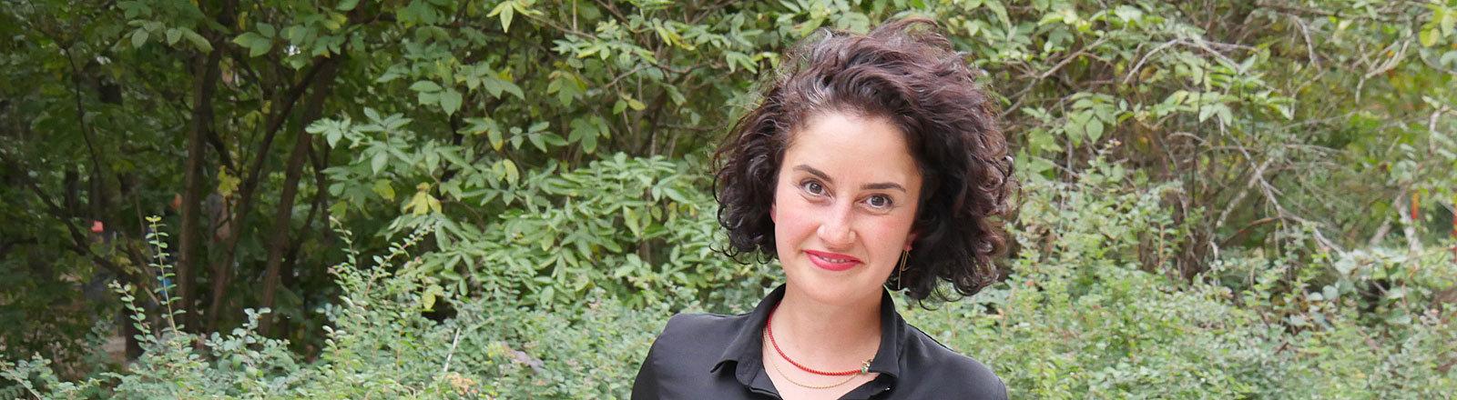 Armaghan Naghipour, Rechtsanwältin für Migrationsrecht und stellvertretende Vorsitzende von DeutschPlus