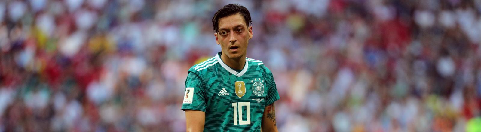 Mesut Özil beim WM-Spiel gegen Russland