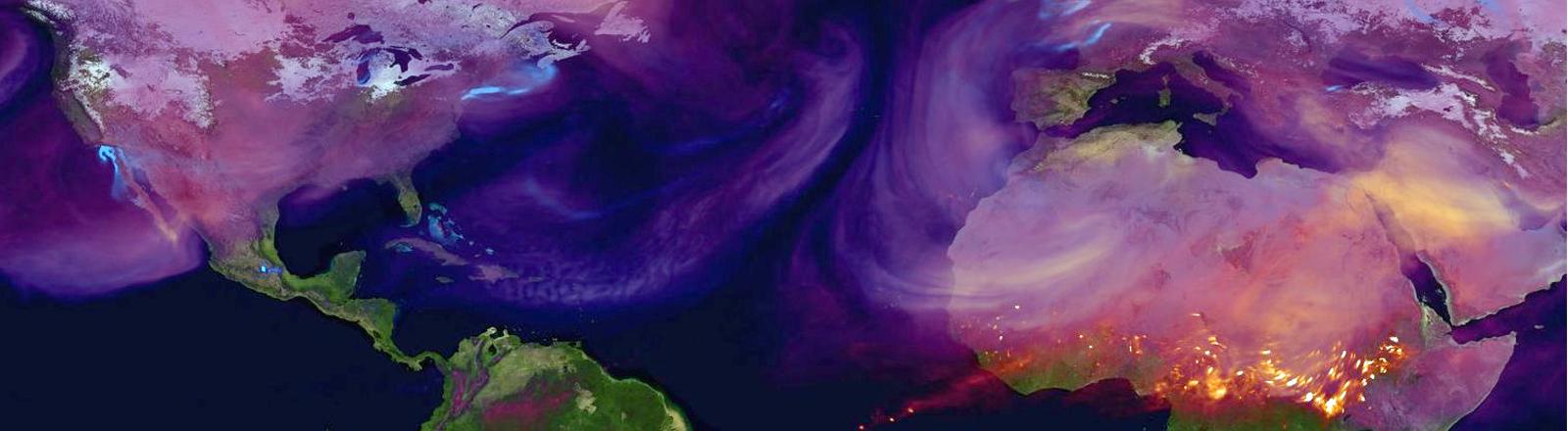 Animation: CO2-Ausstoß weltweit