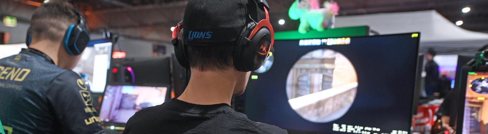 Gamer bei der Dreamhack 2018