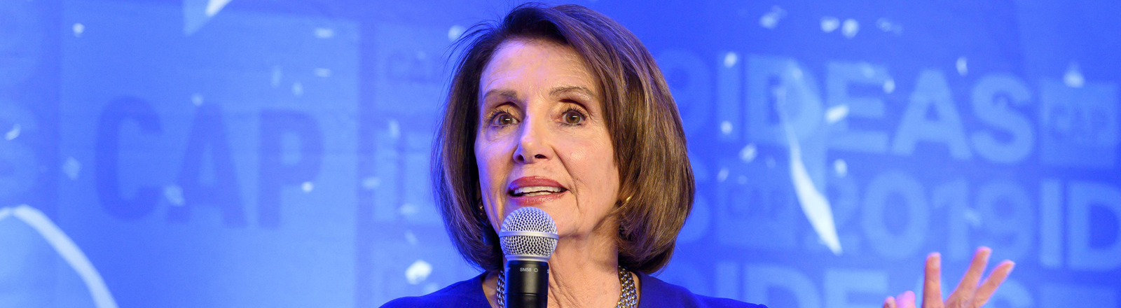 Nancy Pelosi beim Center for American Progress CAP am 22. Mai 2019