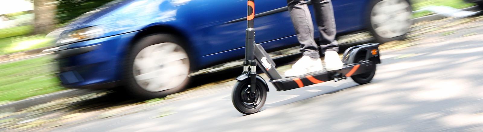 In Herne dürfen die ersten E-Scooter fahren.