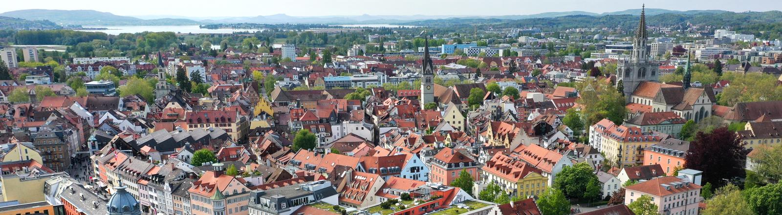 Stadtansicht Konstanz.