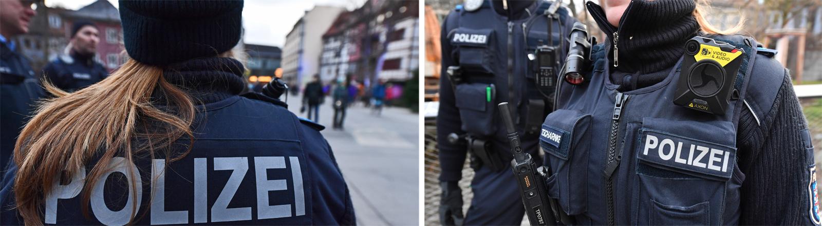 Einsatz von Bodycams bei der Polizei im Dezember 2018 in Thüringen