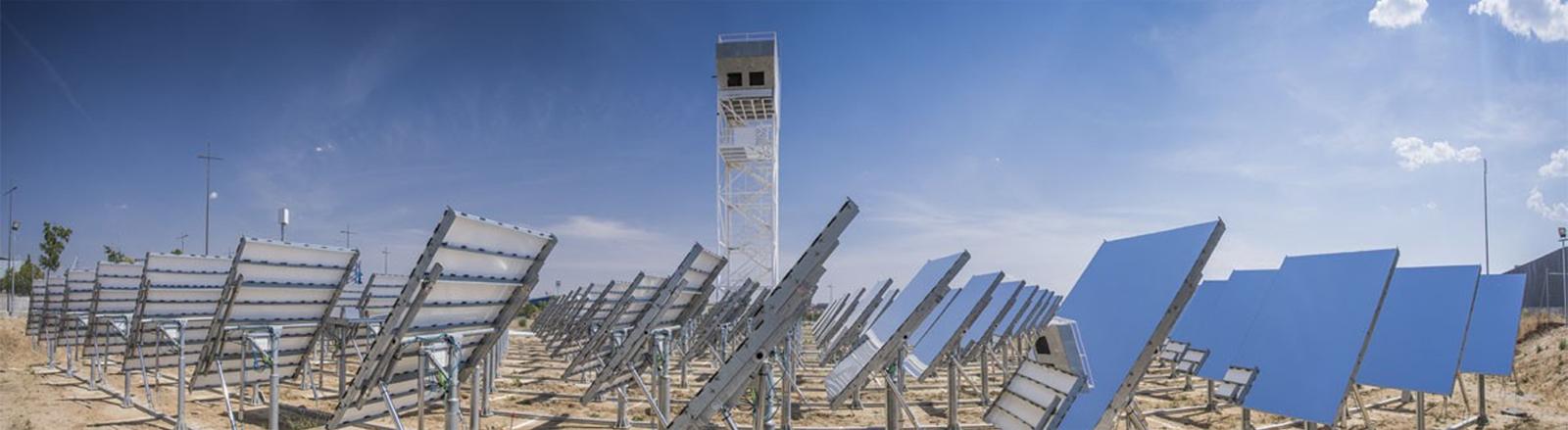 Die Sun-to-Liquid-Anlage in der Nähe von Madrid