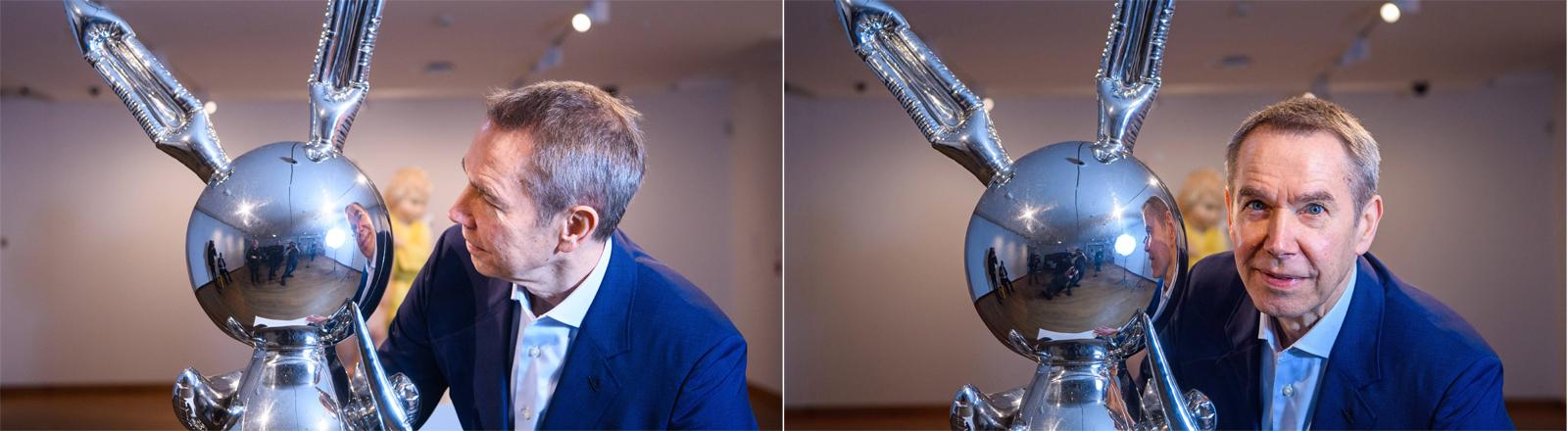 """Jeff Koons und ein """"Rabbit"""""""