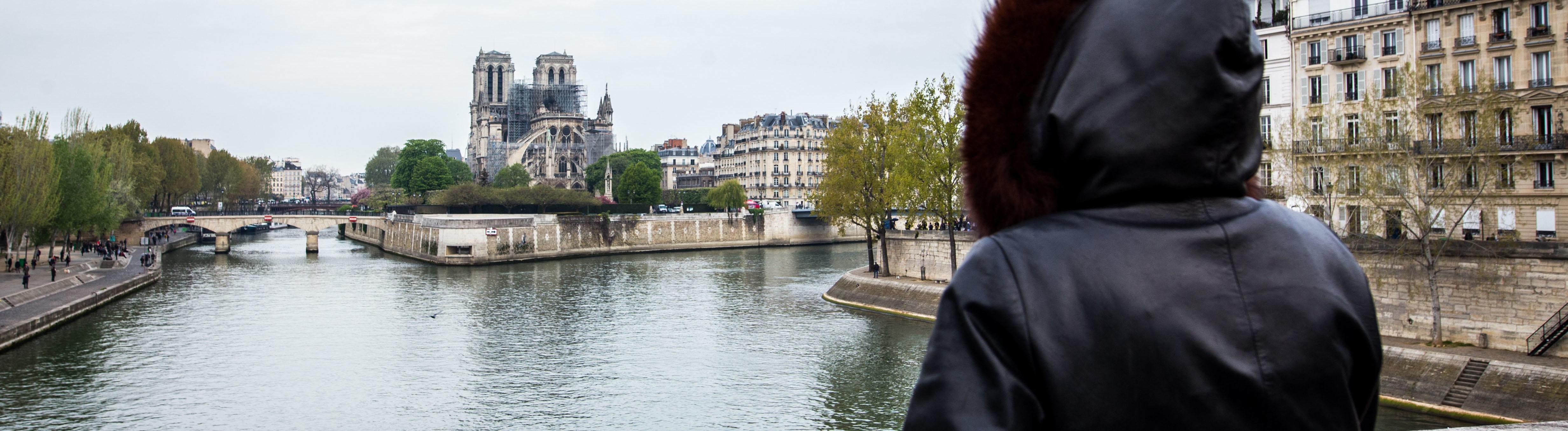 Blick auf Notre-Dame