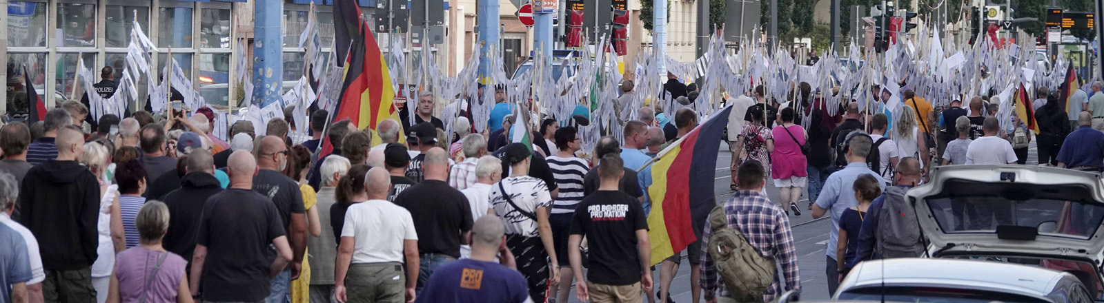 Demo in Chemnitz am 25.08.19