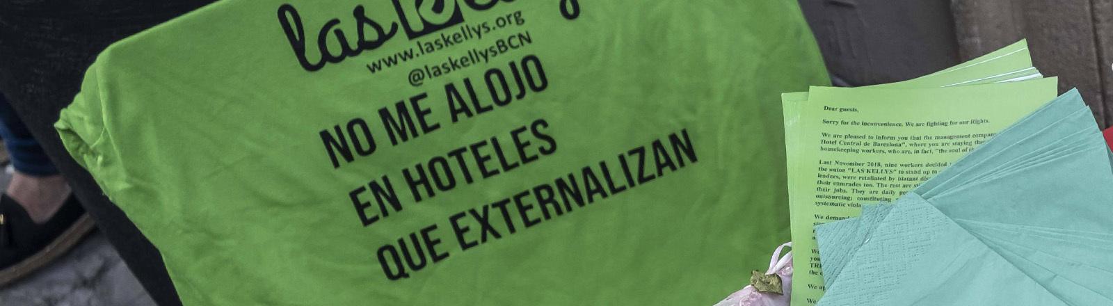 """Streik der Putzkräfte in spanischen Hotels """"Las Kellys"""""""