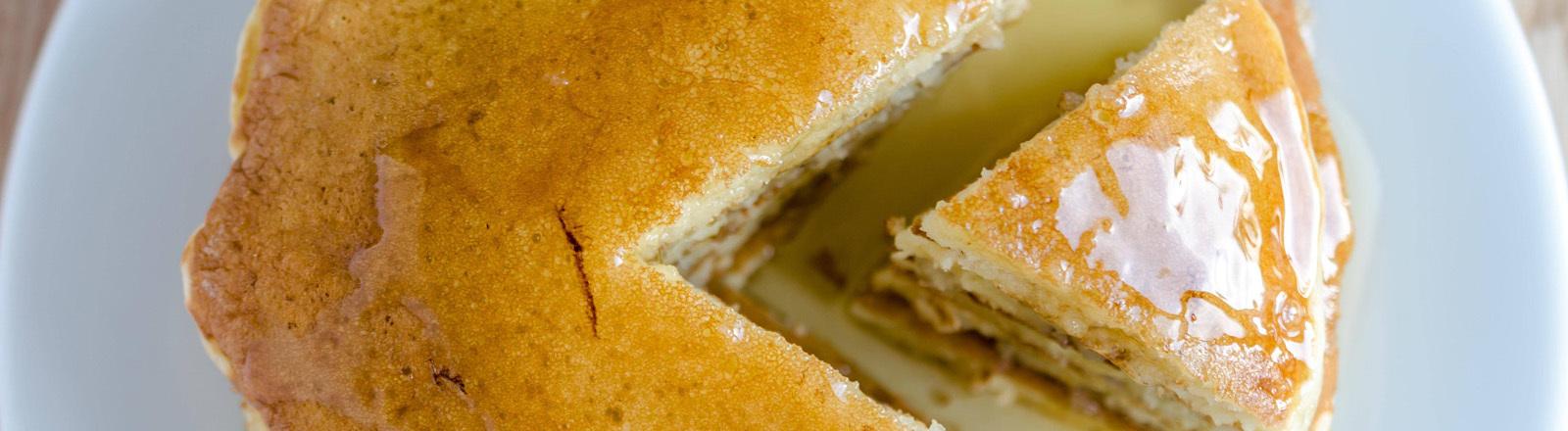 Kuchen aus Crepes