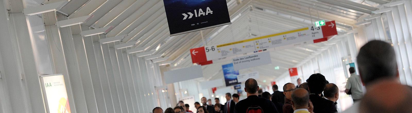 Besucher der IAA