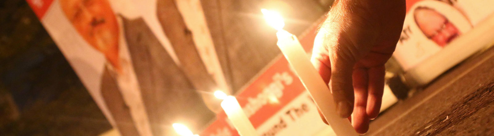 Gedenken an Jamal Khashoggi.