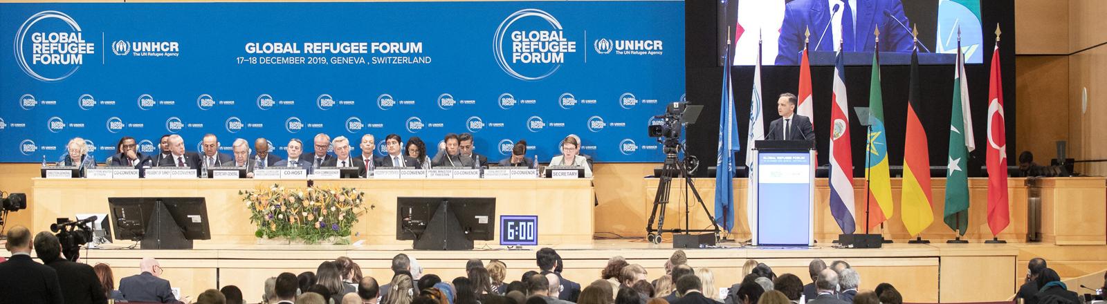 Global Refugee Forum in Genf am 17.12.2019