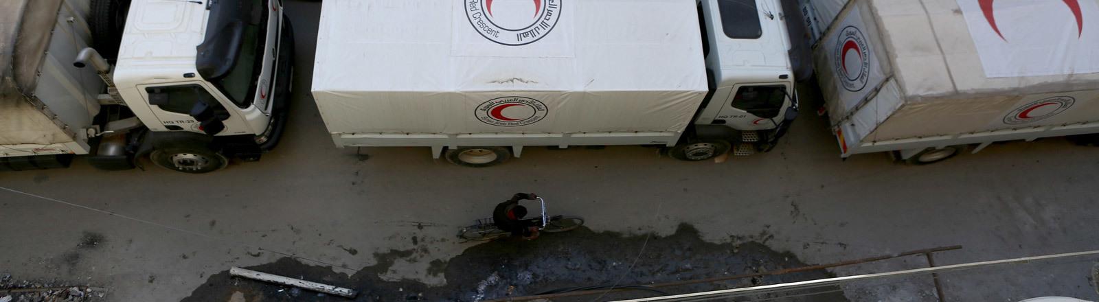 Un-Hilfskonvoi in Syrien