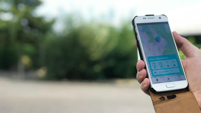 Infos zur Luftqualität direkt aufs Handy