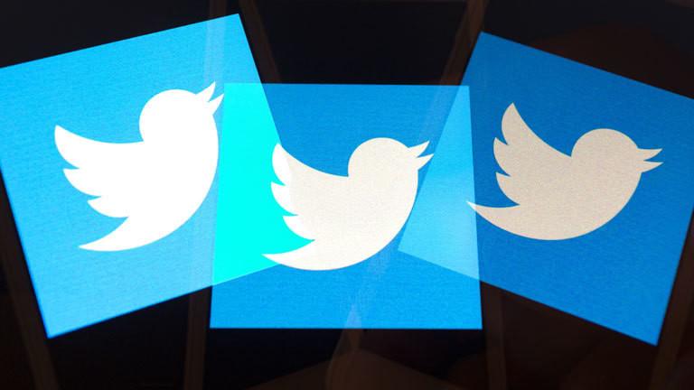 Twitterlogo mehrmals übereinander gelegt.