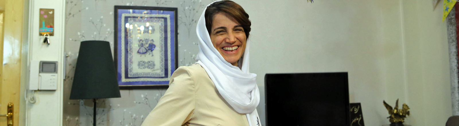 Nasrin Sotoudeh am 18. September 2013